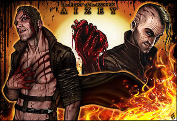 AIZEY: The BEAST who bathes in BLOOD by IJS-Creations