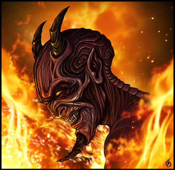 VALMAE: The Burning Son by IJS-Creations