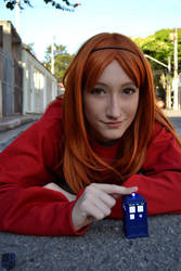 Amy Pond - 'It's bigger on the Inside' by TakaMoony