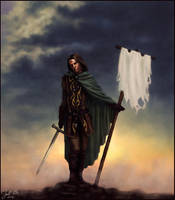 White Flag by godofwar