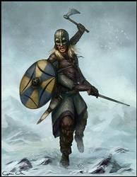 Four-Armed Viking by godofwar