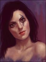 Ruby Lips by godofwar