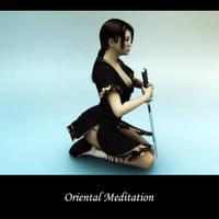 Oriental Meditation by Digger2000