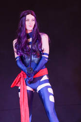 Psylocke on stage by NeaCosplay
