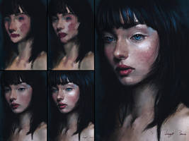 Colour Study-Process by BisBiswas
