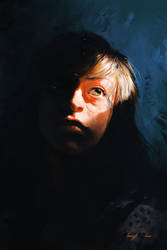 Portrait Study by BisBiswas