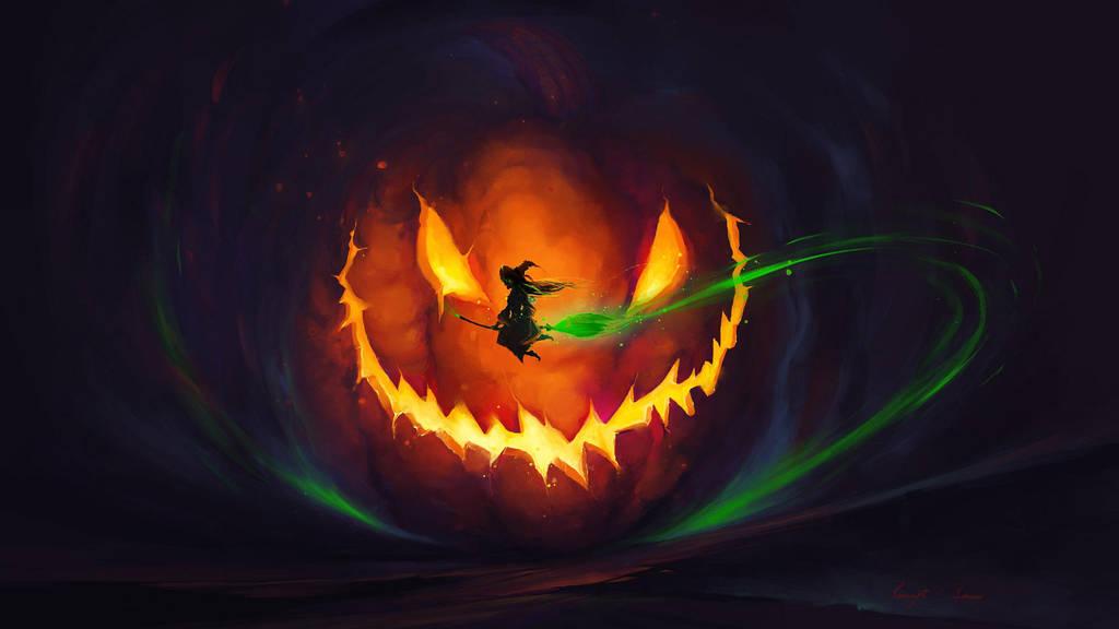 Halloween by BisBiswas