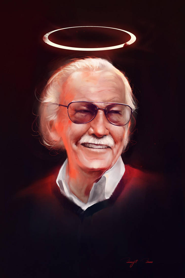 Stan Lee - Excelsior by BisBiswas