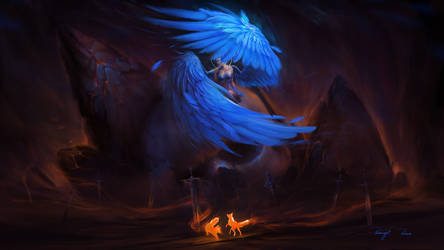 Angel of Death by BisBiswas