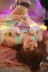 Kotori minami cheerleader by DemonBeatz