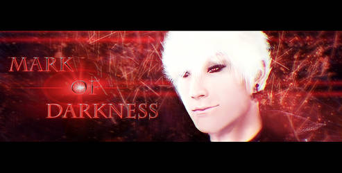 Mark of Darkness Banner Digital Painting by Dex91