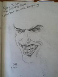 Old Joker Sketch by iImperator