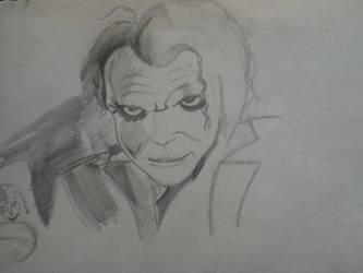 Heath Joker Sketch by iImperator