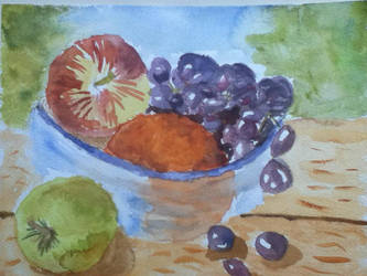 StillLifeWatercolour by iImperator