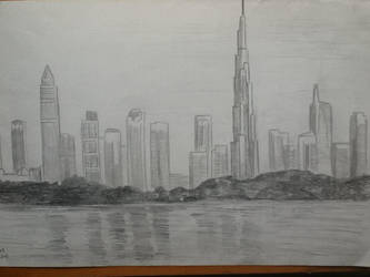 DubaiSkyline by iImperator