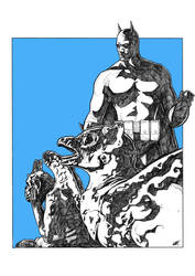 Batman by PencilPaul