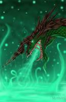 Forest-Dragon by mythori