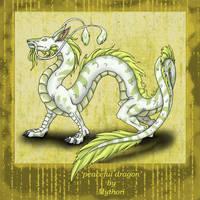 peaceful dragon by mythori