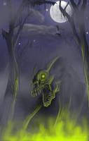 Glowing nightmare by mythori