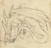 Dragonsketch002 by mythori