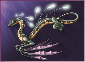 Water Dragon by mythori