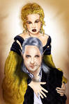 Richard and his wife by Naralim