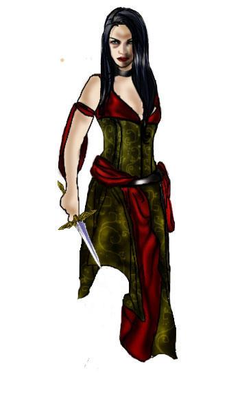 Warlock chick by Naralim