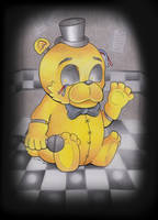 Golden Freddy by Nathaldron