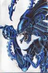 Alien Queen by Nathaldron