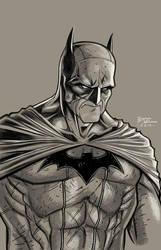 Batman sketch by RyanBodenheim