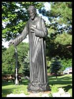Saint Benedict by mikeakabatman