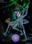 Tava and Vanaa by world-of-zekira