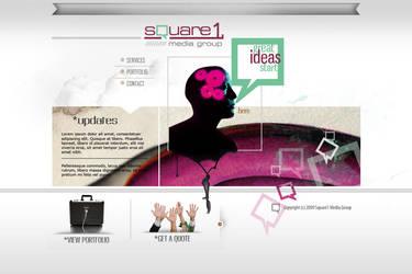 Square One Media site by BobbyG12