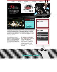 Music Zone Website by BobbyG12