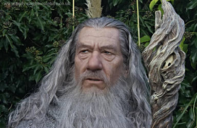 Gandalf life size statue by artyandy