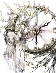 .Cadence of Time. by strawberrypockey