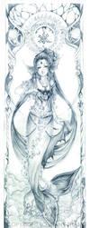 Elementals--water by strawberrypockey