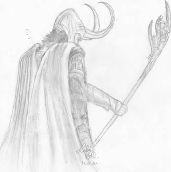 Loki by Glorfindelle