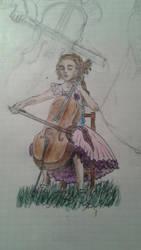 Cello by Glorfindelle