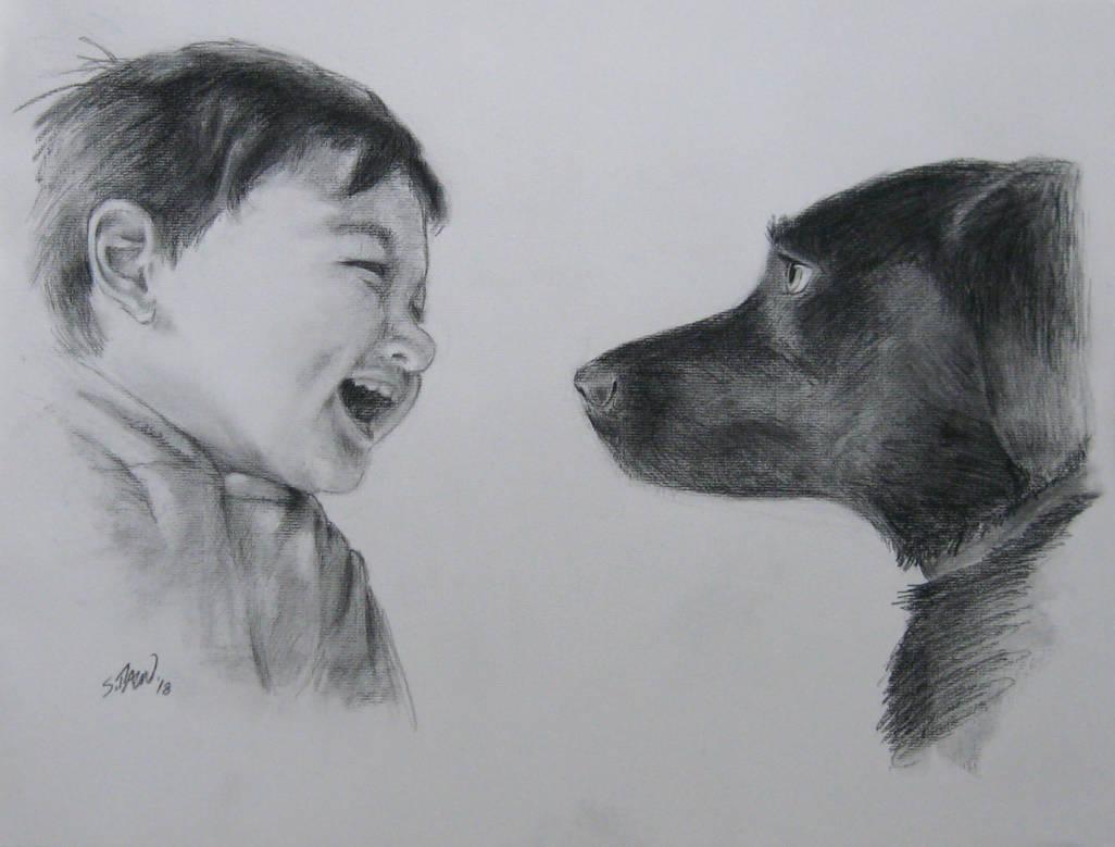 A Boy and His Dog by DubyaScott
