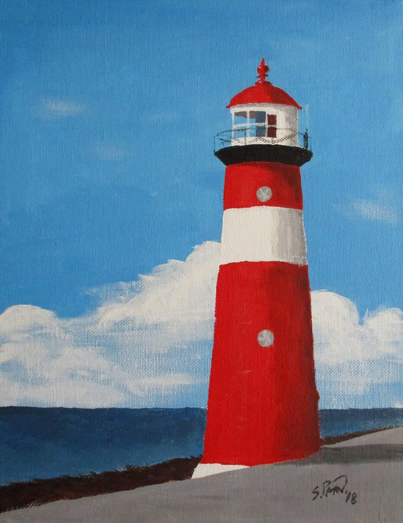 Short Lighthouse by DubyaScott