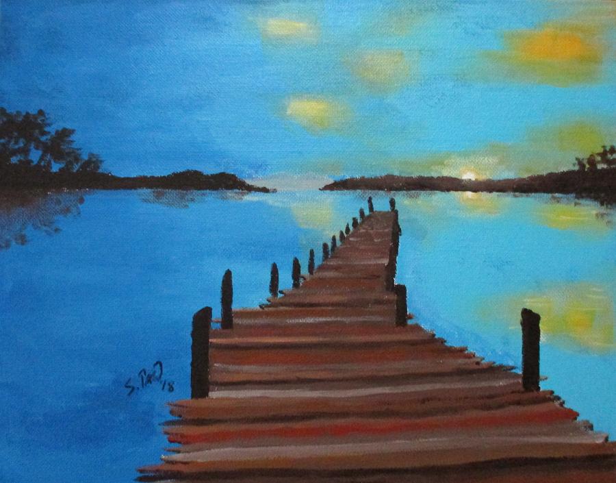 Old Wooden Dock by DubyaScott