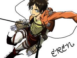 Eren Jaeger by kriara2853