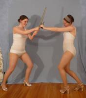 Sailor Team Fight 1 by SenshiStock