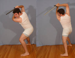 Tuxedo Jay with Sword 15 by SenshiStock