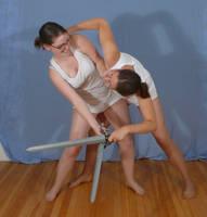 Sailor Sword Fight 1 by SenshiStock