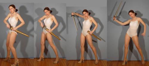 Sailor Sakky Draws Her Sword by SenshiStock