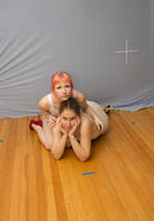 Collab Stock: Girlsfriends 1 by SenshiStock