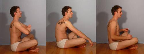 Moonlight Dan Meditation by SenshiStock