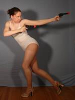 Shoot and Run Stock by SenshiStock